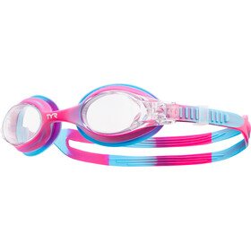 TYR Swimple Tie Dye Goggles Kids Pink/Blue